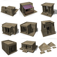 egyptian buildings
