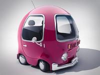 3d cherry car concept