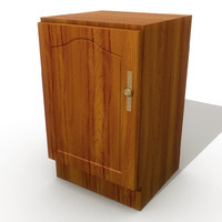 3d model kitchen cupboard
