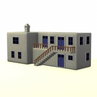 greek house 3d max