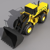 Low Poly L350-F Wheel Loader.MAX