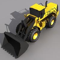 l350 wheel loader 3d model