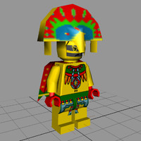 Lego Figure - Tribal Chief