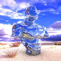 Muscular Torso Sculpture