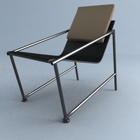 pisa chair 3d max