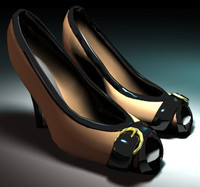 woman shoes 3d model
