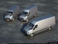 Mercedes New Sprinter Pack (3 Models)