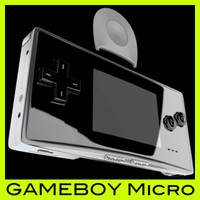 gameboymicro renderman rib 3d model