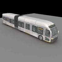 3d model of articulated bus