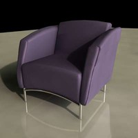 maya seat contemporary tubular