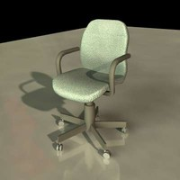 3d modern office swivel chair