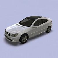mercedes benz c 3d model
