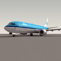 Boeing 737-400 KLM (S)