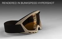 3d ski goggles model