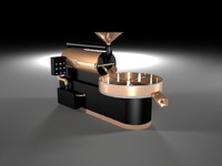 coffee roaster 3d dwg