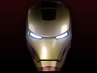 Ironman Head (Maya & Obj)