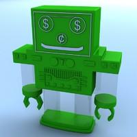 maya robot bank