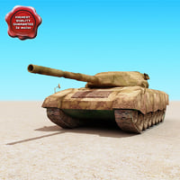 3d leopard battle tank 1a1a1