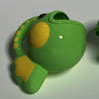 3d model plastic toy