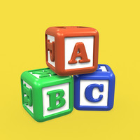 abc letter blocks