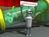 robot bender 3d 3ds