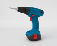cordless screwdriver drill 3d model