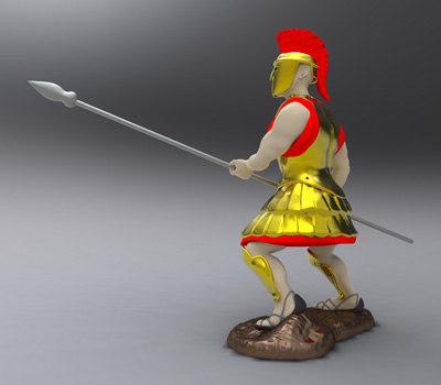 Crusader Figurine