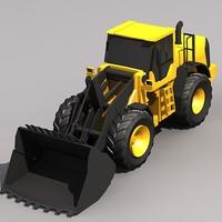 3d l220f wheel loader model