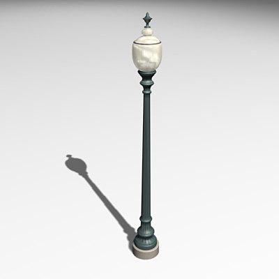 Model lamp post