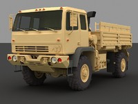 m1078 standard cargo truck 3d model