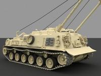 m88a1 medium recovery 3d model