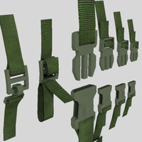 Backpack clips - quick release
