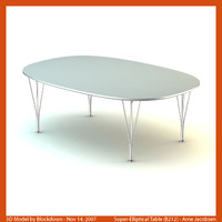 AJ Super-Elliptical Table 150x100x52 B212