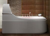 3ds max designer bathtube