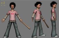 character boy 3d max