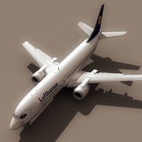 Boeing 737-400 Lufthansa (S)