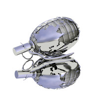 grenade earth 3d max