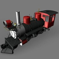 modeled steam engine 3d model