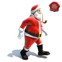 Santa Claus Pose4