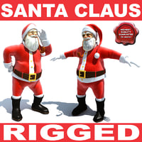 Santa Claus (Rigged)