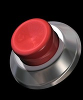 max button shiny red