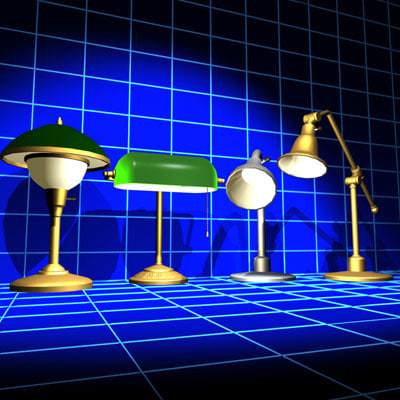 Desk Lamp Collection 01