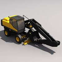 Low Poly EW210C Crawler Excavator.MAX