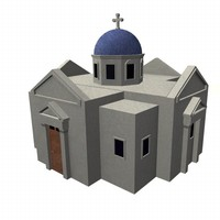3ds max greek church