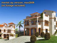Mediterranean villas