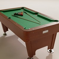pool table 3d max
