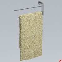 3ds max towel rack