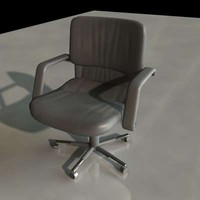 3dsmax executive office chair