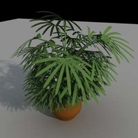 3ds max small plant