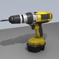 drill power 3d obj